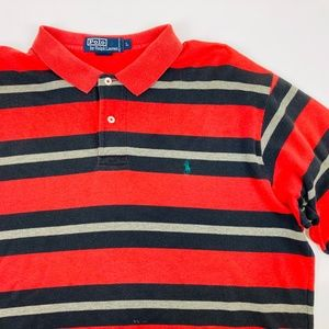 Polo Ralph Lauren Vintage Early 90s Striped Polo